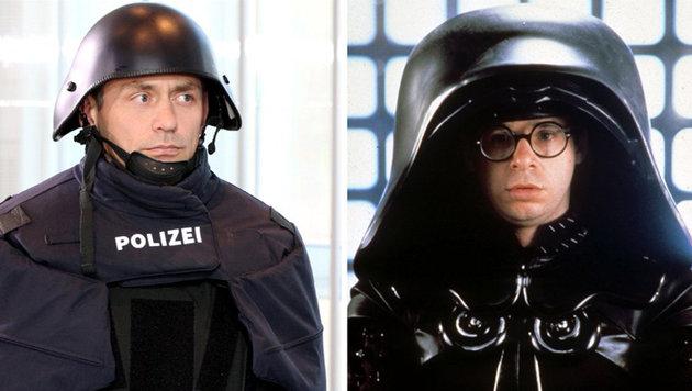 #Spaceballs: Netz verspottet bayrische Polizei (Bild: twitter.com/Toby1525)