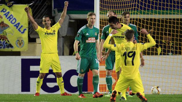 Rapid verliert auswärts bei Villarreal mit 0:1 (Bild: AP)