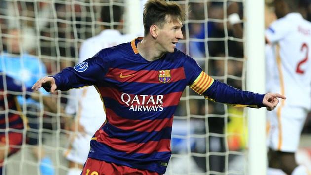 ManCity soll Messi 57 Millionen Jahresgage bieten (Bild: APA/AFP/PAU BARRENA)