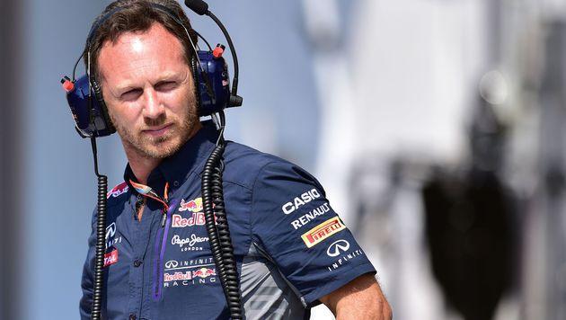 """Red-Bull-Chef Horner: """"Werden 2016 da sein!"""" (Bild: AFP)"""