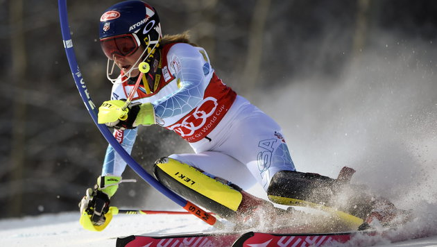 Shiffrin kehrt nächste Woche in den Weltcup zurück (Bild: APA/EPA/JOHN G. MABANGLO)
