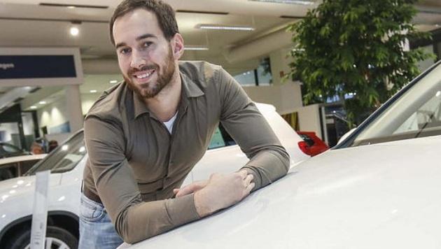 Eduard Malle setzte sich gegen 20.000 Teilnehmer bei der WM als bester VW-Verkäufer durch. (Bild: Markus Tschepp)