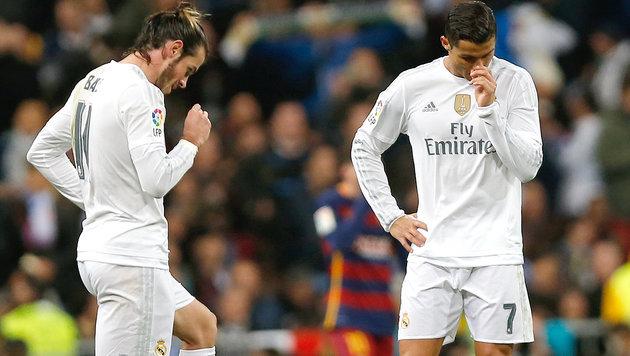 Real Madrid droht eine einjährige Transfersperre (Bild: AP)