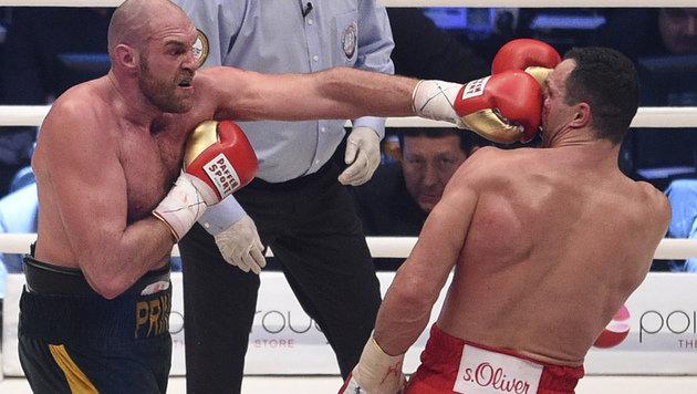 """Weltmeister Fury: """"Ich schlage Klitschko wieder"""" (Bild: AP)"""