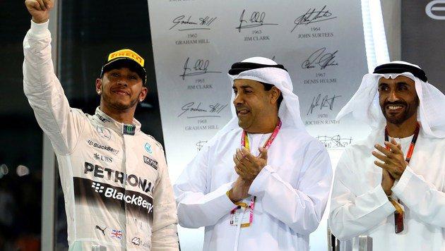 Abu Dhabi: Nico Rosberg gelingt Sieg-Hattrick (Bild: STF)