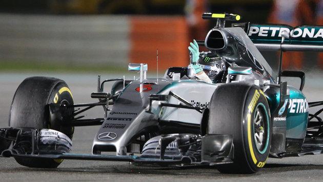 Abu Dhabi: Nico Rosberg gelingt Sieg-Hattrick (Bild: AP)