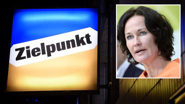 Grünen-Chefin Glawischnig und ihre Partei wollen etwaige Klagen in der Causa Zielpunkt unterstützen. (Bild: APA/HELMUT FOHRINGER, APA/HANS KLAUS TECHT)