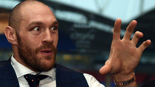 Klitschko vs. Fury wegen Knöchelblessur verschoben (Bild: APA/AFP/PAUL ELLIS)