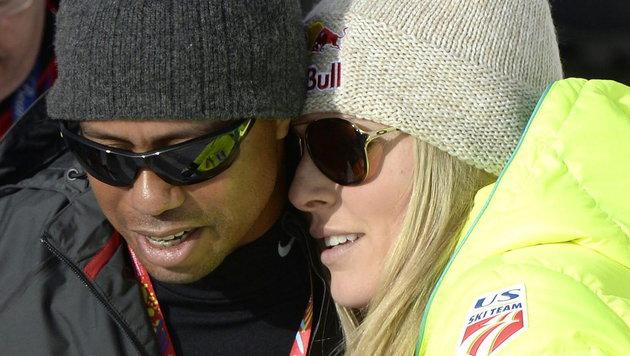 """Lindsey Vonn: """"Ich liebe Tiger Woods immer noch!"""" (Bild: APA/EPA/HANS KLAUS TECHT)"""