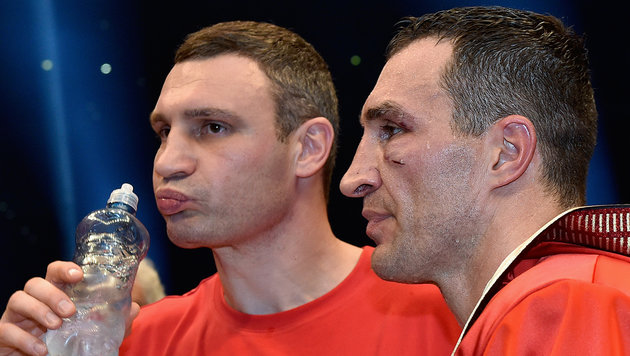 """Vitali Klitschko: """"Das war nicht mein Bruder"""" (Bild: AP)"""