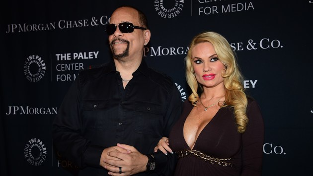 Ice-T und seine Ehefrau Coco Austin sind Eltern geworden. (Bild: APA/AFP/FREDERIC J. BROWN)