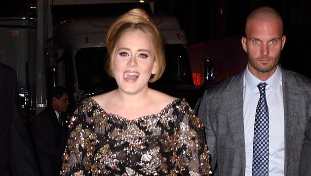 Der Bodyguard von Adele löste einen Hype im Netz aus. (Bild: Viennareport)