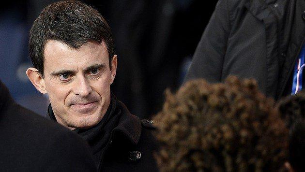 Premierminister Manuel Valls (Bild: APA/AFP/FRANCK FIFE)