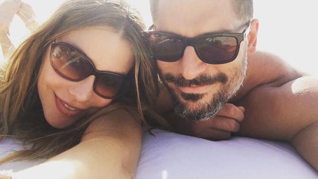 Sofia Vergara und Joe Manganiello senden verliebte Grüße aus den Flitterwochen. (Bild: instagram.com/sofiavergara)