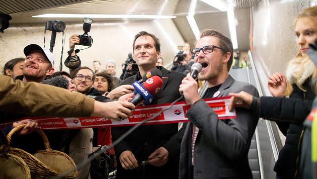 Wien: 100 Anzeigen nach wilder Rolltreppen-Party (Bild: APA/GEORG HOCHMUTH)