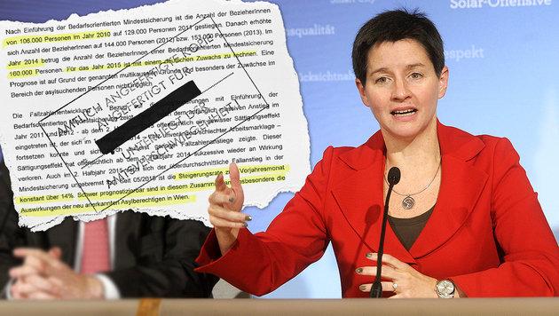 Wien geht das Geld für die Mindestsicherung aus (Bild: APA/HERBERT PFARRHOFER, Kronenzeitung)