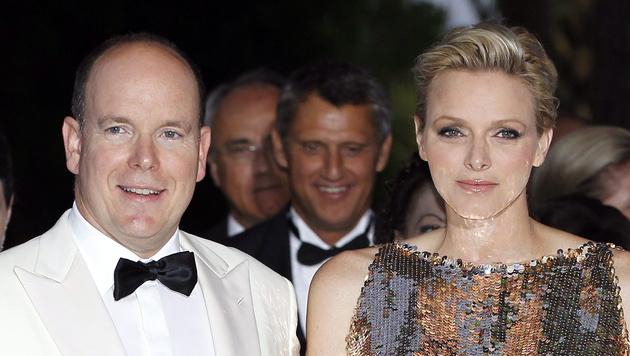 Fürst Albert und Charlene (Bild: SEBASTIEN NOGIER/EPA/picturedesk.com)