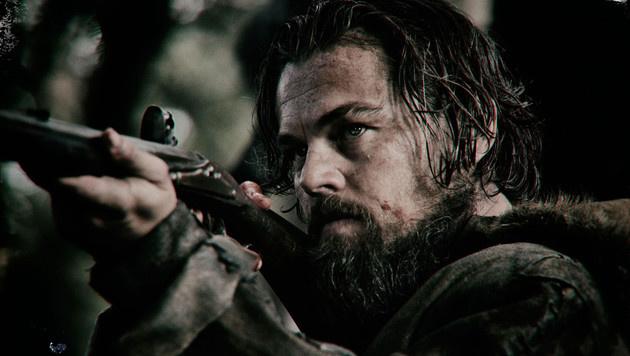 """Leonardo DiCaprio in """"The Revenant - Der Rückkehrer"""" (Bild: Viennareport)"""
