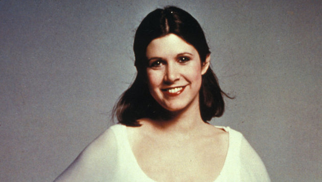 Carrie Fisher 1977 (Bild: Viennareport)