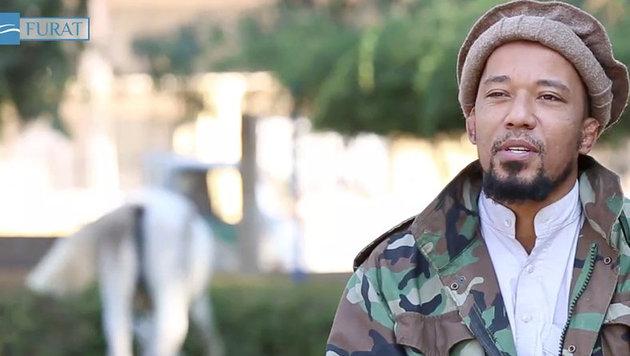 """Deutscher IS-Terrorist """"Deso Dogg"""" doch nicht tot (Bild: YouTube.com)"""