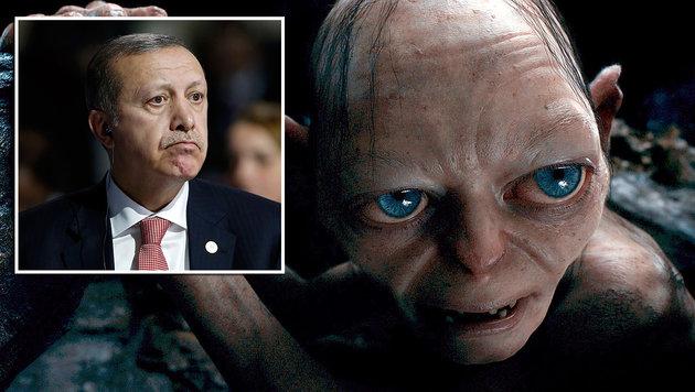 Besteht da tatsächlich eine Ähnlichkeit? Ein türkisches Gericht soll die Frage klären. (Bild: dpa-Film/Warner Bros, AP)