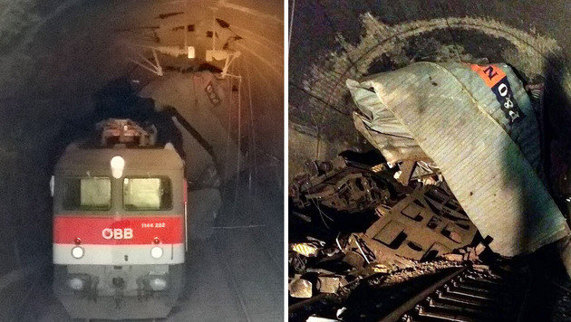 Kollision mit E-Lok als Ursache für Zugentgleisung (Bild: facebook.com/ÖBB-Trainspotter)