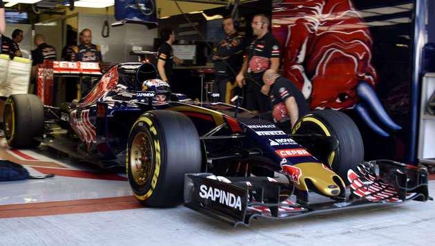 Ferrari darf Toro Rosso mit altem Motor ausstatten (Bild: APA/AFP/Tom Gandolfini)
