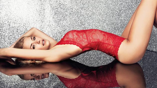 Engerl oder Teuferl? Lena Gercke macht den Krampus so richtig sexy! (Bild: Viennareport)