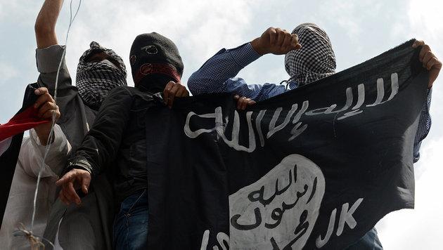 IS-Kämpfer in Syrien (Bild: AFP)