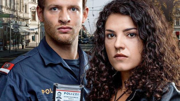 """""""Die schönste Polizistin Wiens (Bild: ORF)"""""""