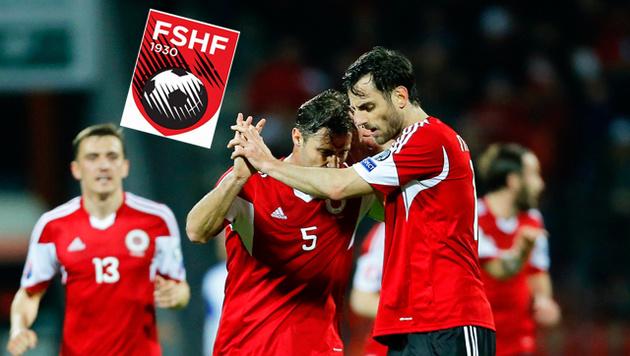 Albaner sind 83 Mio. € weniger wert als ÖFB-Stars (Bild: APA/EPA/ARMANDO BABANI)