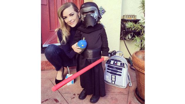 """Jamie King ist bekennender """"Star Wars""""-Fan und hat ihre Kinder schon angesteckt. (Bild: Viennareport)"""