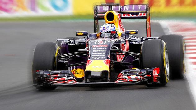 Red Bull 2016 mit TAG-Heuer-Motor von Renault (Bild: APA/EPA/ULISES RUIZ BASURTO)