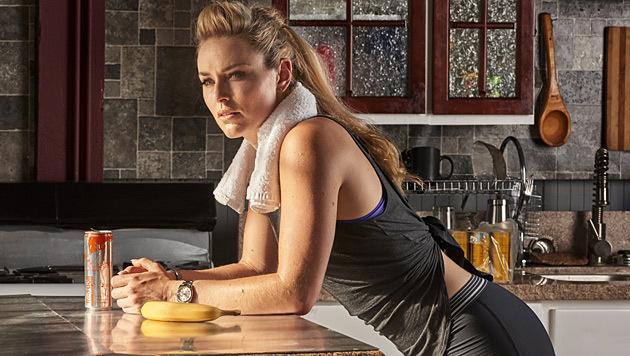 Lindsey Vonn mischt sich unter die Autorinnen (Bild: Red Bull Contentpool)