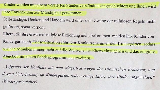 """Kinder werden mit """"veraltetem Sündenverständnis"""" eingeschüchtert. (Bild: """"Krone"""")"""