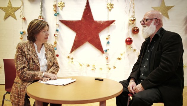 Günter Aichinger mit Conny Bischofberger (Bild: Reinhard Holl)
