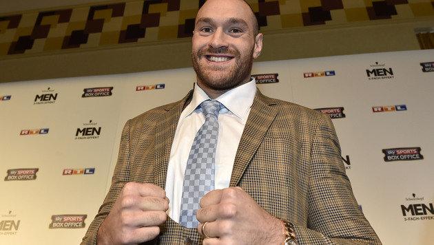 Box-Champion Fury mit üblen Sprüchen gegen Frauen (Bild: AP)
