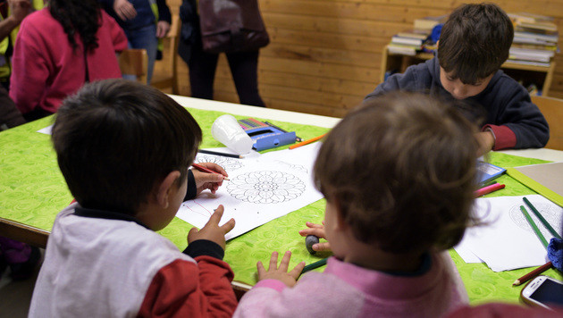 Förderungen für Wiener Kindergärten eingefroren (Bild: APA/Hans Punz (Symbolbild))
