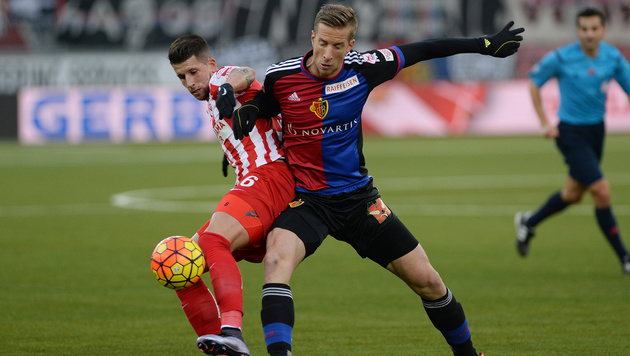 Janko-Doppelpack bei Basels 2:0-Sieg in Thun (Bild: GEPA)