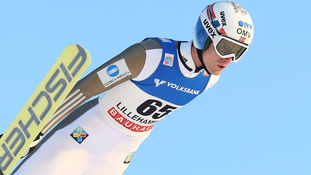 Norweger Gangnes siegt in Lillehammer, Hayböck 8. (Bild: GEPA)
