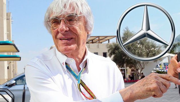 So will Ecclestone die Mercedes-Dominanz brechen! (Bild: APA/EPA/SRDJAN SUKI)