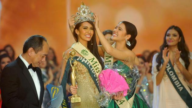"Wien: Philippinerin zur ""Miss Earth"" gekürt (Bild: APA/EPA/PHILIPPHUTTER.COM/HANDOUT)"