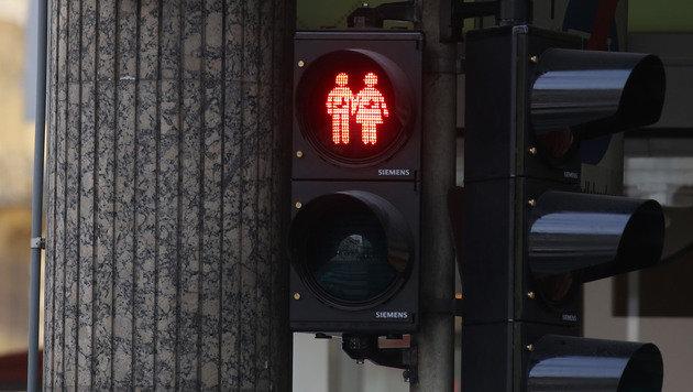 Linzer FPÖ-Stadtrat ließ Ampelpärchen abmontieren (Bild: Chris Koller)