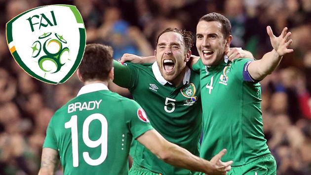 EURO 2016: Irland will mit Fanrückhalt überraschen (Bild: APA/AFP/PAUL FAITH)