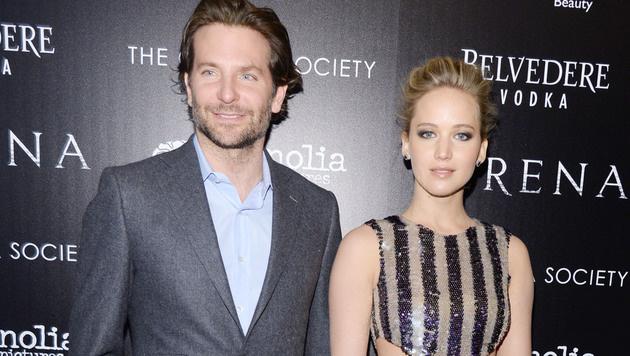 Bradley Cooper und Jennifer Lawrence (Bild: Viennareport)