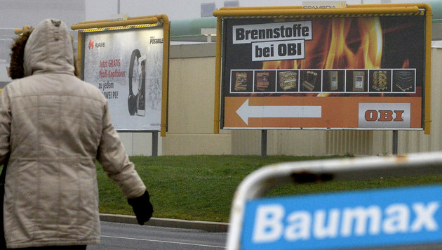 OBI eröffnete erste ehemalige bauMax-Filialen (Bild: APA/HARALD SCHNEIDER)