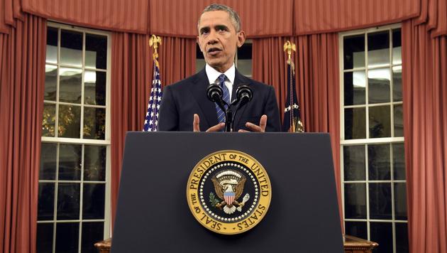 Obama klagt �ber WLAN-Abdeckung im Wei�en Haus (Bild: AP)