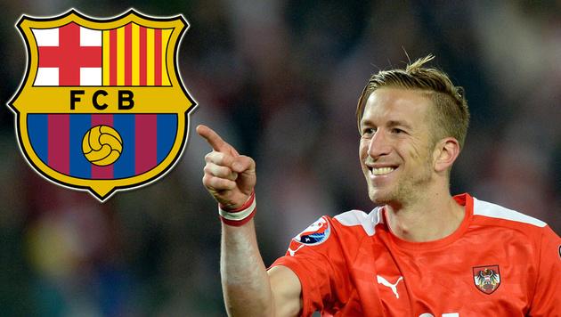 Marc Janko auf Wunschliste des FC Barcelona? (Bild: APA/EPA/ROLAND SCHLAGER)