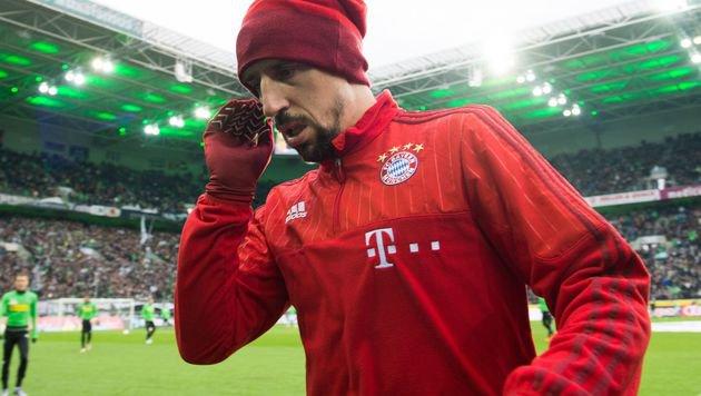 Prostitutions-Artikel: Ribery verklagt Zeitschrift (Bild: APA/AFP/DPA/BERND THISSEN)