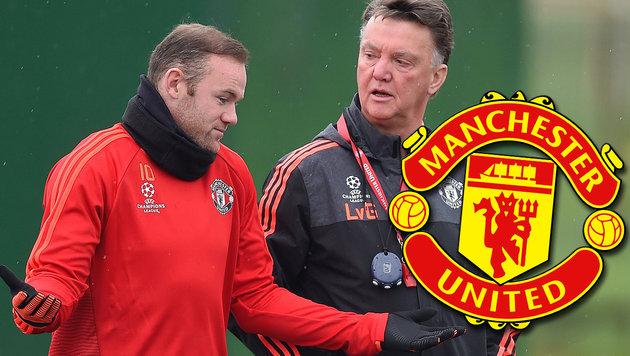 Rooney besoffen im Training? Aus Kader geworfen! (Bild: APA/EPA/Peter Powell)
